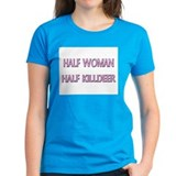 Half Woman Half Killdeer Tee