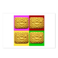 Custard Cream Postcards (Package of 8)