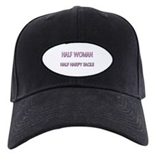 Half Woman Half Harpy Eagle Baseball Hat