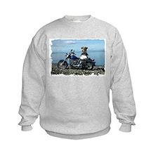 Cute Biker art Sweatshirt