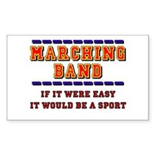 Marching Band - A Sport Rectangle Decal