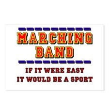 Marching Band - A Sport Postcards (Package of 8)
