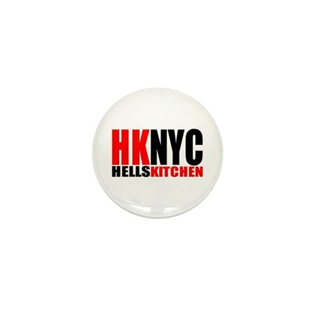 """hells kitchen shirt"" Mini Button (100 pack)"