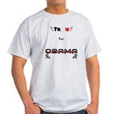 Trinis for Obama Men's T-Shirt