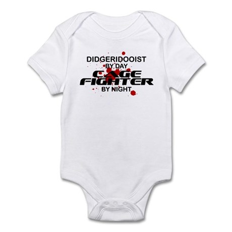 Didgeridooist Cage Fighter by Night Infant Bodysui