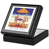 Sea for Two - Beach Keepsake Box