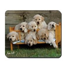 Golden Puppies Mousepad v2