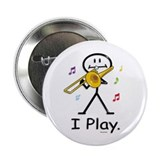 "BusyBodies Trombone 2.25"" Button (100 pack)"
