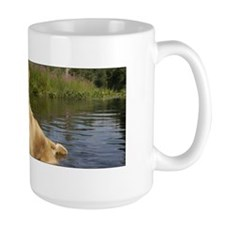 Wet Golden in the Pond Mug