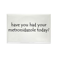 metronidazole Rectangle Magnet (100 pack)
