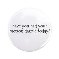 "metronidazole 3.5"" Button (100 pack)"