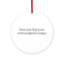 metronidazole Ornament (Round)