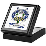 Forrest Family Crest Keepsake Box