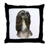 Afghan Hound 9J31D-06 Throw Pillow