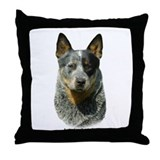 Australian Cattle Dog 9F061D-04 Throw Pillow