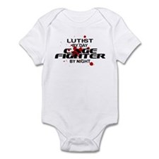 Lutist Cage Fighter by Night Infant Bodysuit