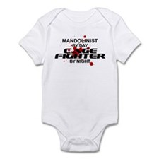 Mandolinist Cage Fighter by Night Infant Bodysuit
