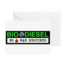 BIODIESEL Greeting Card