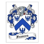 Frances Family Crest Small Poster