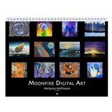 Moonfire Digital Art Wall Calendar