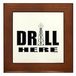 Drill Here Framed Tile