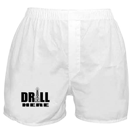 Drill Here Boxer Shorts