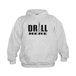 Drill Here Kids Hoodie