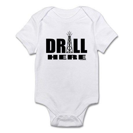 Drill Here Infant Bodysuit