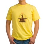 Northern Territory Police Yellow T-Shirt