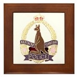 Northern Territory Police Framed Tile