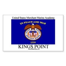 USMM Flag Rectangle Decal