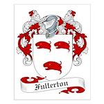Fullerton Family Crest Small Poster