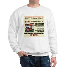 born in 1954 birthday gift Sweatshirt