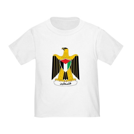 Palestine Coat Of Arms Toddler T-Shirt