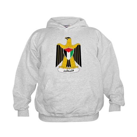 Palestine Coat Of Arms Kids Hoodie