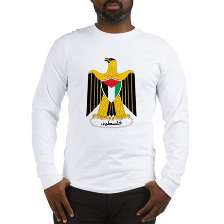 Palestine Coat Of Arms Long Sleeve T-Shirt
