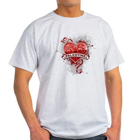 Heart Palestine Light T-Shirt