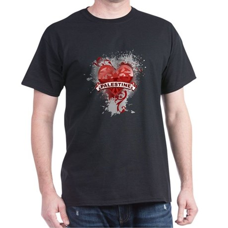 Heart Palestine Dark T-Shirt