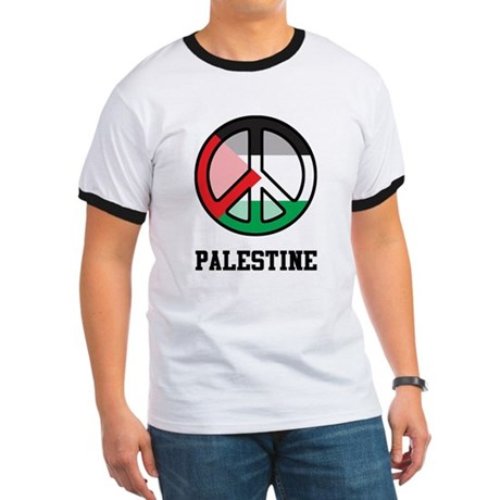 Peace In Palestine Ringer T