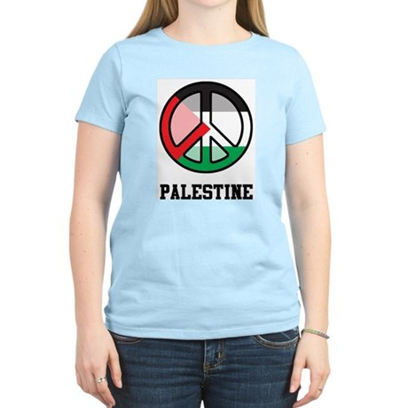 Peace In Palestine Women's Light T-Shirt