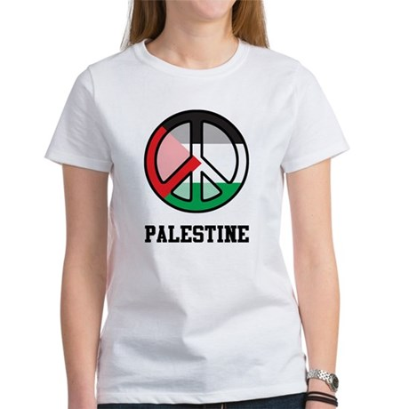 Peace In Palestine Women's T-Shirt
