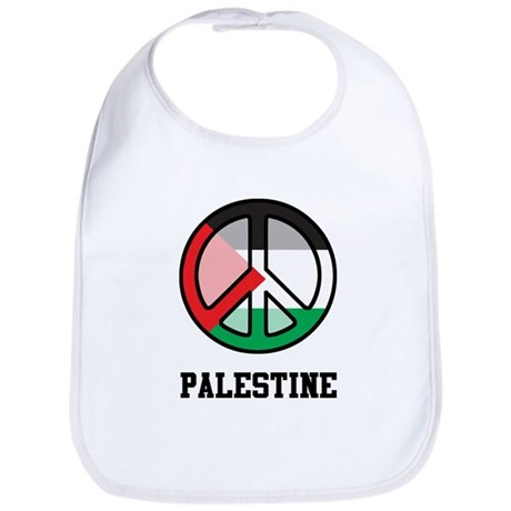Peace In Palestine Bib