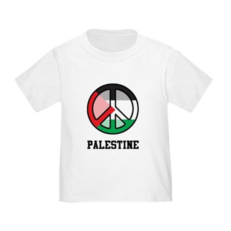 Peace In Palestine Toddler T-Shirt