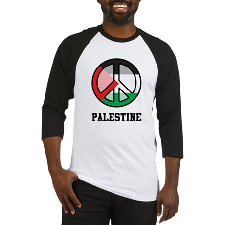 Peace In Palestine Baseball Jersey