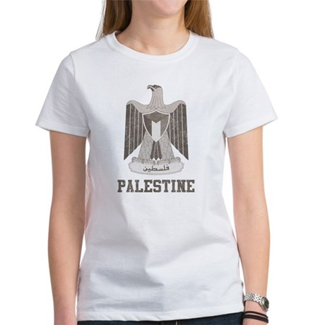 Vintage Palestine Women's T-Shirt