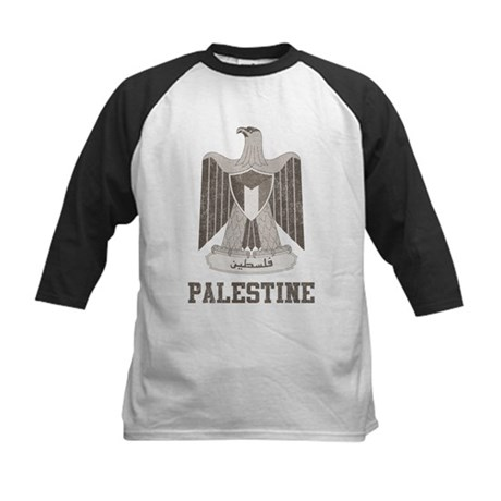 Vintage Palestine Kids Baseball Jersey