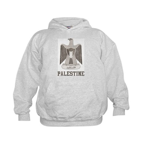 Vintage Palestine Kids Hoodie