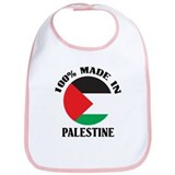 100% Made In Palestine Bib