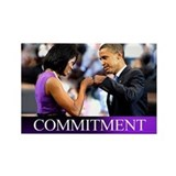 Obama Fist Bump Rectangle Magnet
