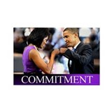 Obama Fist Bump Rectangle Magnet (10 pack)